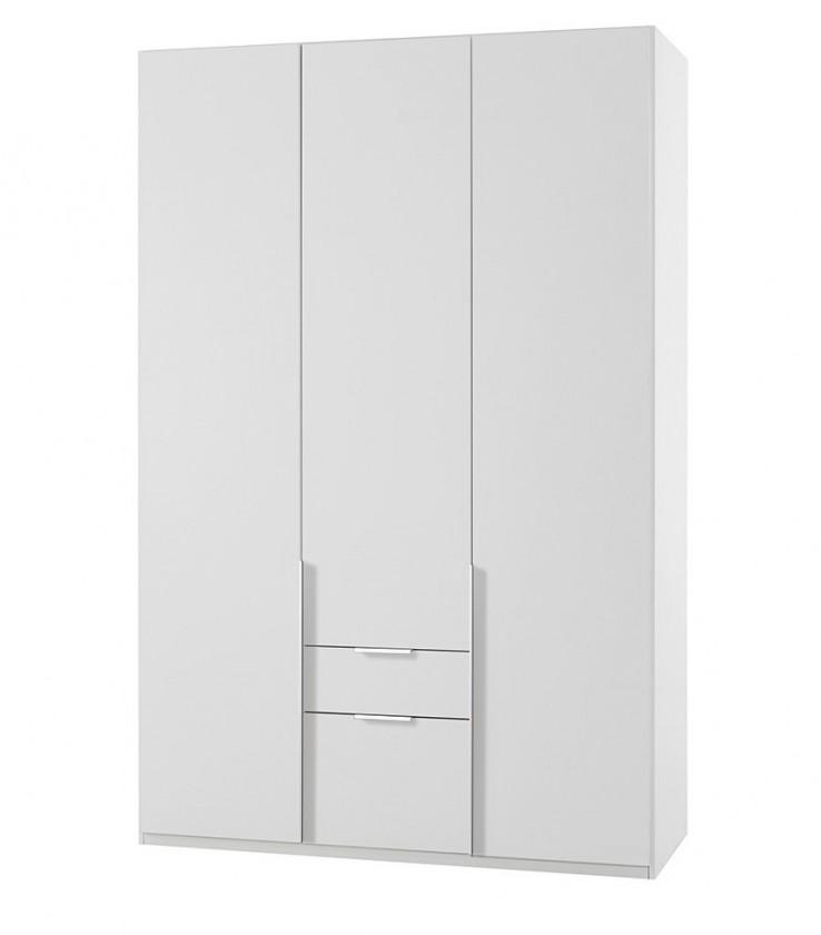 Klasická NewYork33 - Skříň, 135/208/58 (alpská bílá)