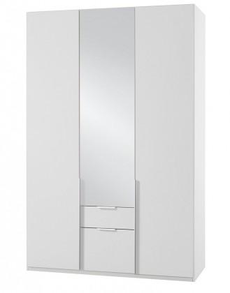 Klasická NewYork37 - Skříň, 135/208/58 (alpská bílá)
