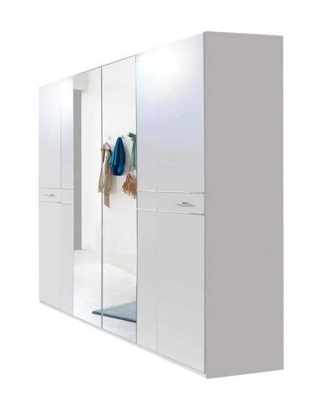 Klasická Petra - Šatní skříň (alpská bílá)