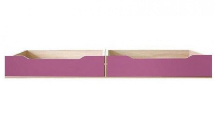 Klasická postel Codi CD 16 (višeň cornvall/fialová)
