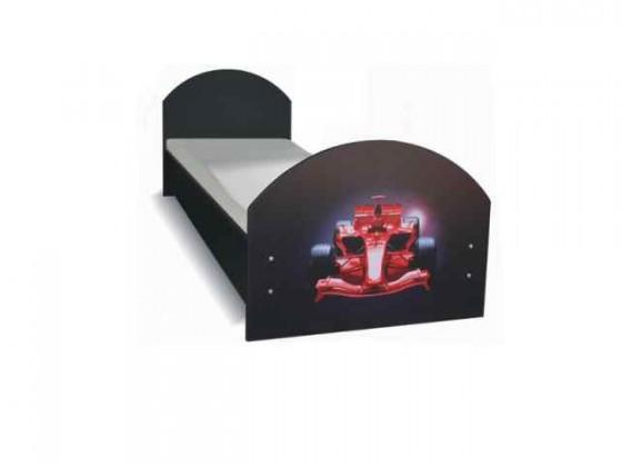 Klasická postel Dětská postel F1 carbon (F1 carbon)
