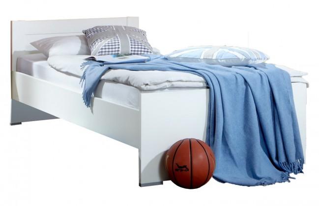 Klasická postel Filou - Postel 90x200 cm (alpská bílá)