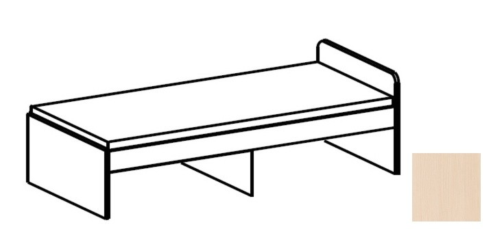 Klasická postel Funky - typ 43