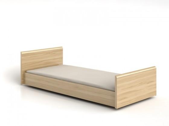Klasická postel INDI LOZ 90 (Buk tatra)