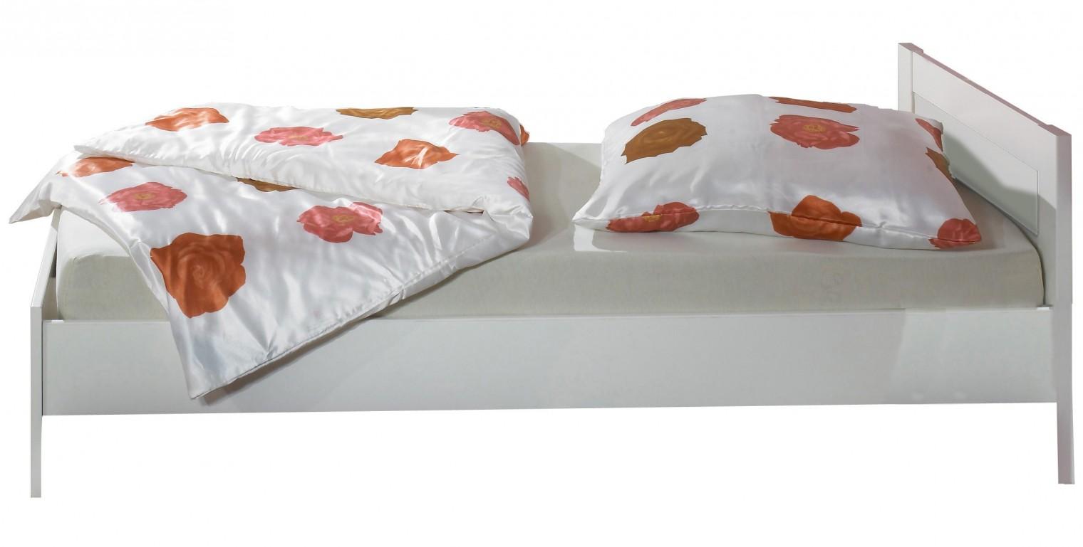 Klasická postel Jette - 320299 (alpská bílá)