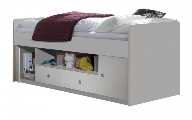 Klasická postel Jette - 320467 (alpská bílá)