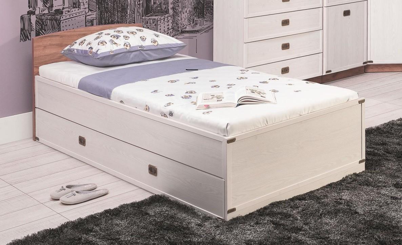 Klasická postel Magic - Postel (modřín sibiřský, dub)