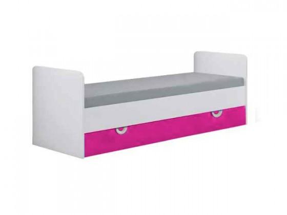 Klasická postel Manta - Postel 15 (růžová)