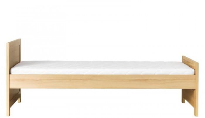 Klasická postel Monza - postel, CD15 (višeň cornvall, zelená)