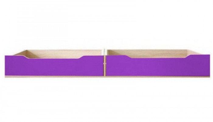 Klasická postel Monza - úl. prostor pod postel, CD 16 (višeň cornvall, fialová)