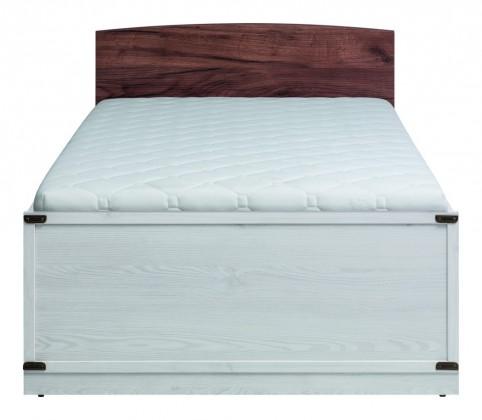 Klasická postel Moon - Postel (modřín sibiřský, dub)