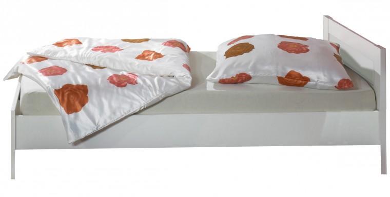 Klasická postel Postel Jette - 320299 (alpská bílá)