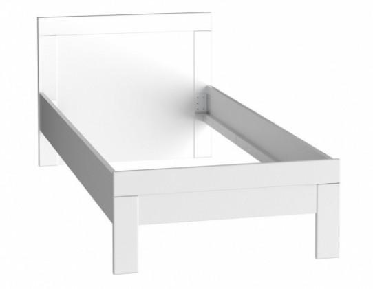 Klasická postel Rám postele Snow SNWL09 (Bílá C50)