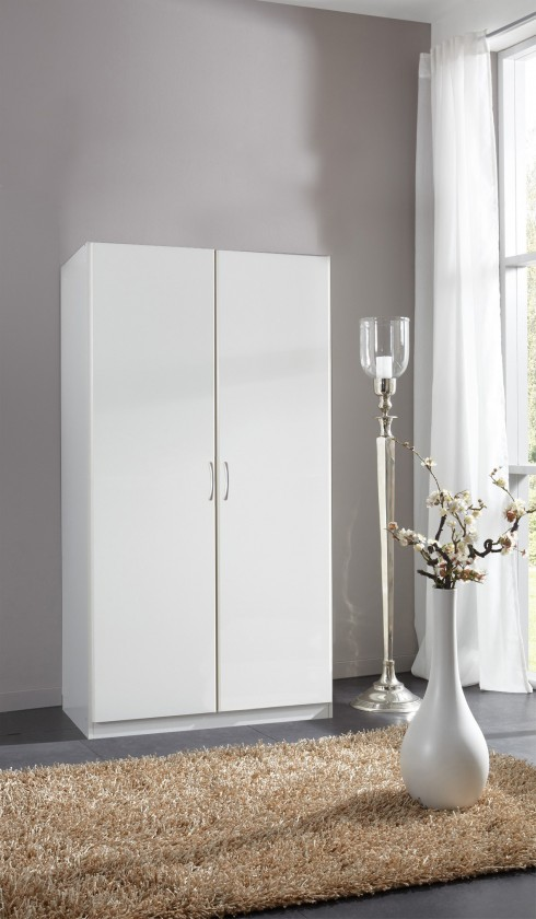 Klasická Sprint - skříň 175x90 cm,2x dveře (alpská bílá)