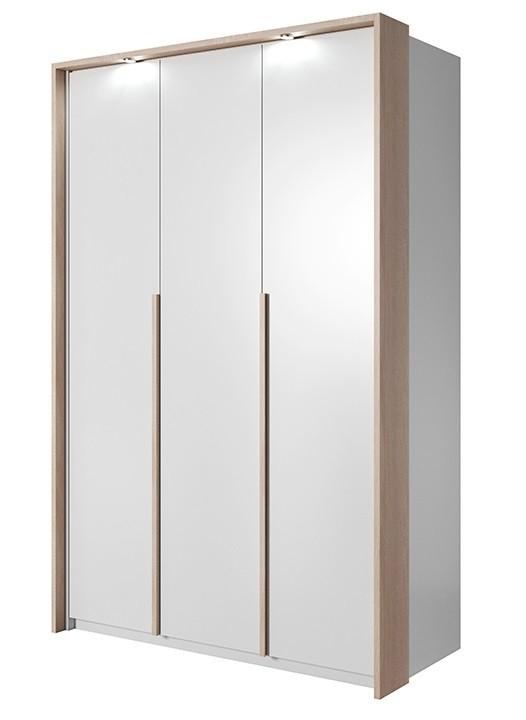Klasická Xelo - Skříň 140,8x215,5x65 cm bílá