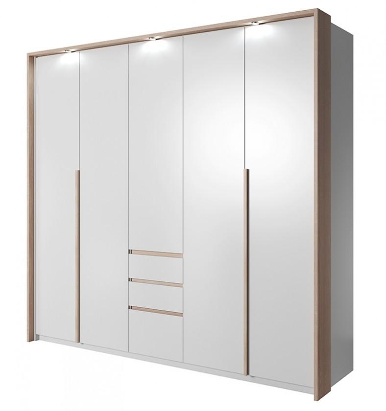 Klasická Xelo - Skříň 229,4x215,5x65 cm bílá