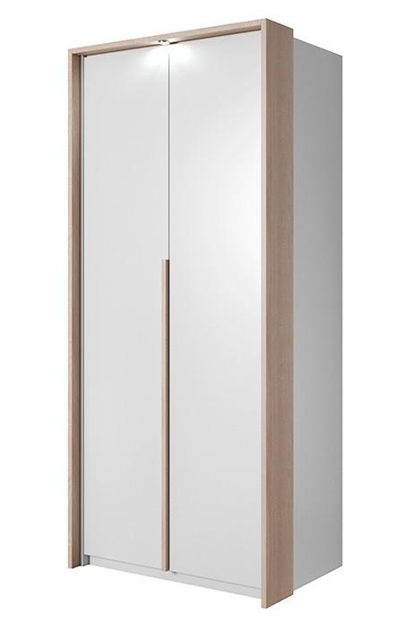 Klasická Xelo - Skříň 96,5x215,5x65 cm bílá