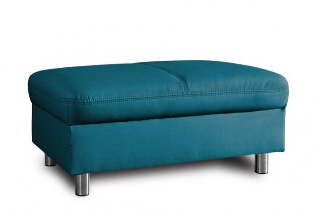 Klasické taburety Taburet Amigo obdélník modrá