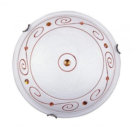 Kleon - Nástěnná svítidla, E27 (alabastrová sklo/bronzová)