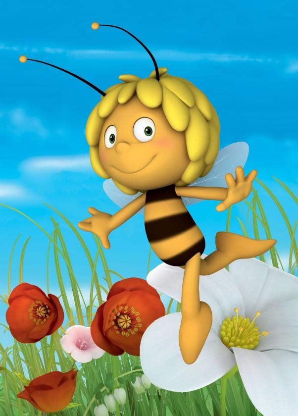 Koberec - Disney Maya - 01 Maya Busy Bee, 95x133 cm (žlutá)