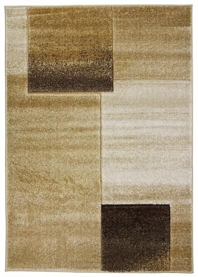 Koberec - Joy de luxe L127/7282, 120x170 cm (béžovohnědá)