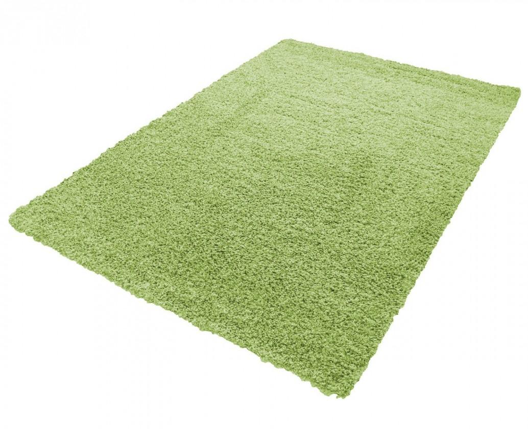 Koberec - Life shaggy 1500, 60x110 cm (zelená)