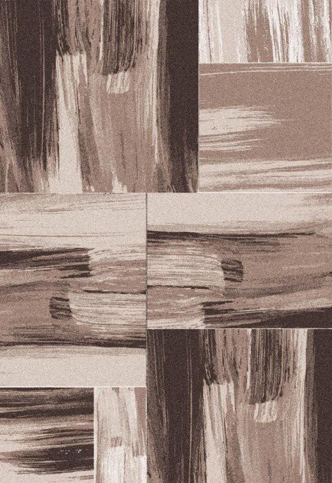 Koberec - Lima 1350, 80x150 cm (hnědá)