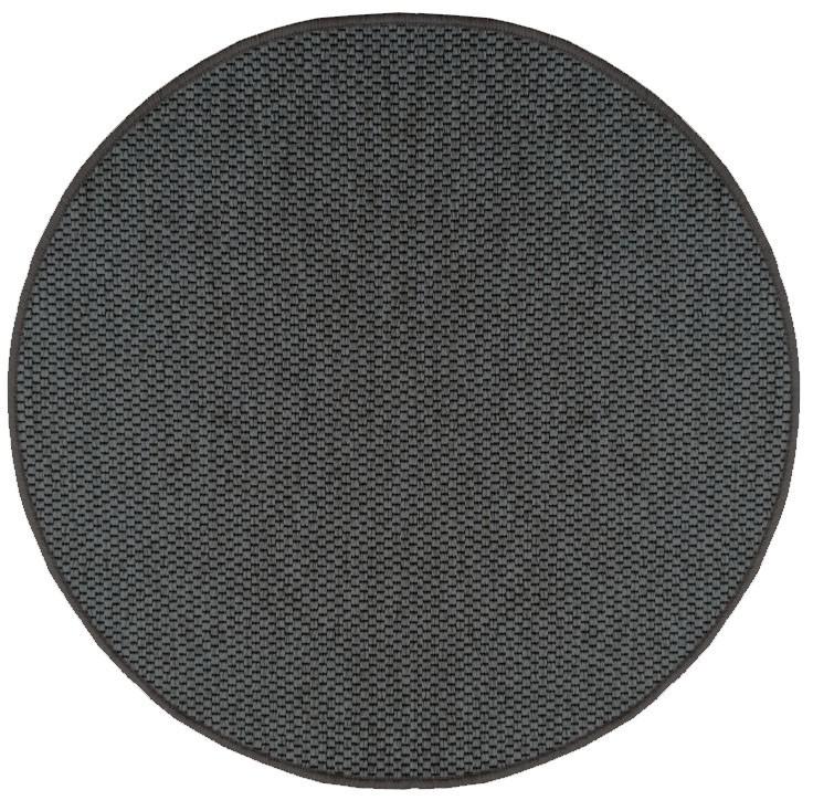 Koberec Nature průměr 80 cm (hnědý)