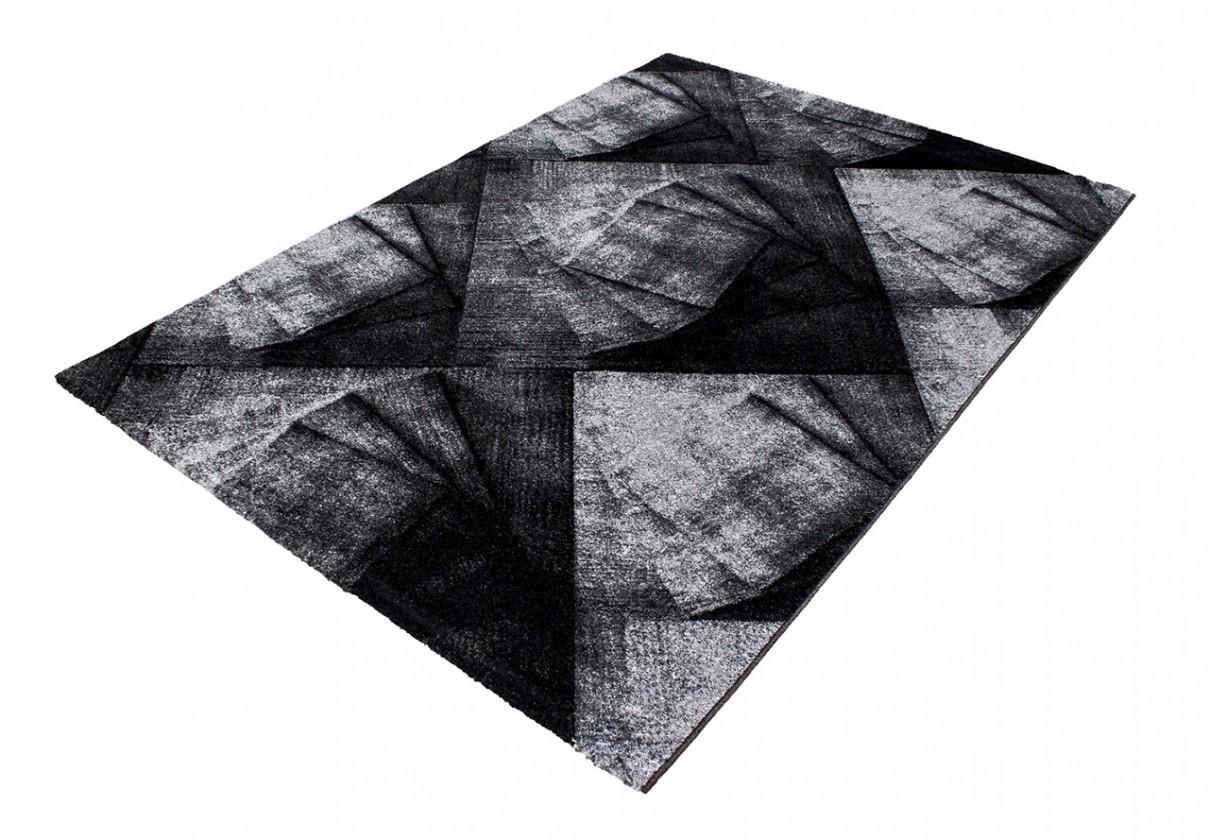 Koberec - Oslo 4220, 80x150 cm (černá)