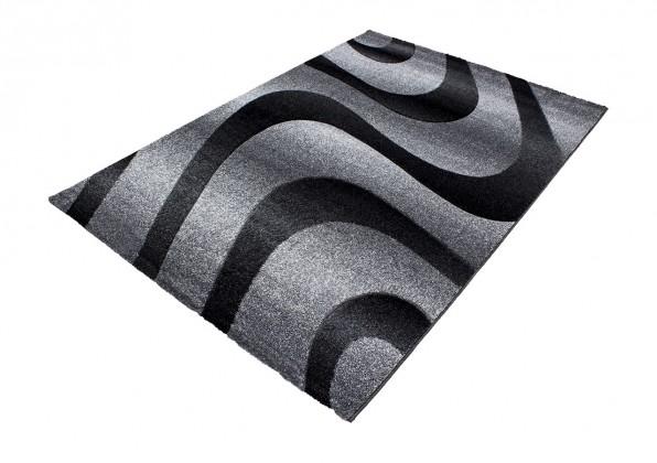 Koberec - Oslo 4230, 80x300 cm (černá)