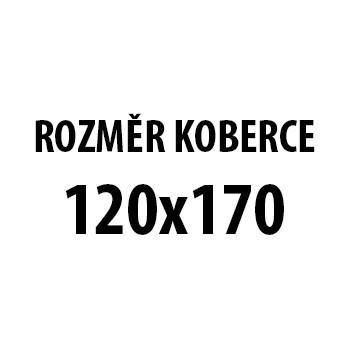 Koberec - Parma 9220, 120x170 cm (šedočerná)