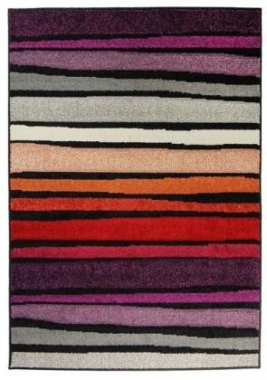 Koberec - Portland 3064 AL1 Z, 120x170 cm (šedočervenofialová)