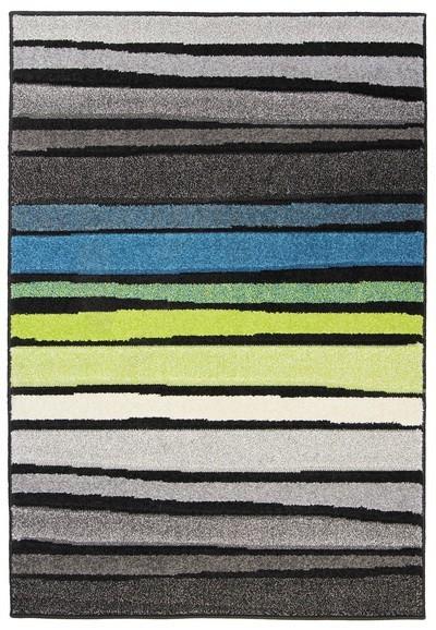 Koberec - Portland 3064 AL1 Z, 80x140 cm (šedozelenomodrá)