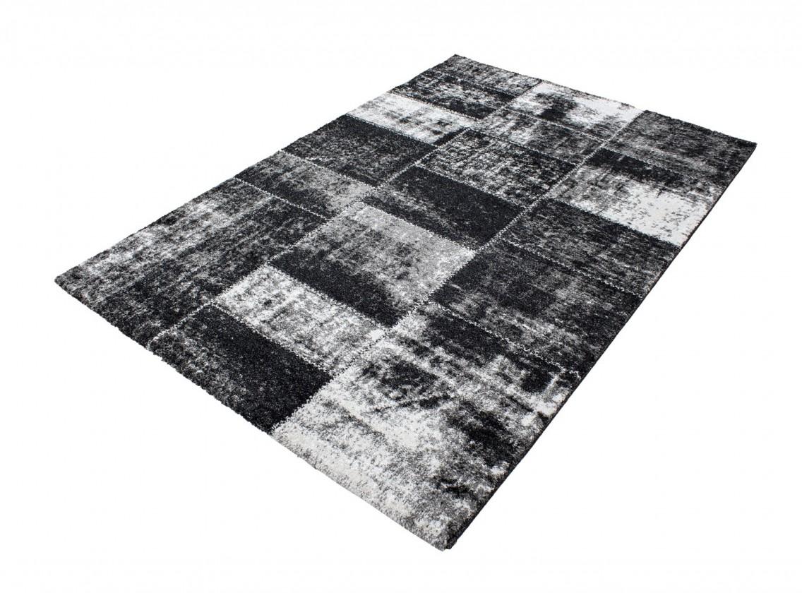 Koberec - Riva 3240, 80x300 cm (černá)