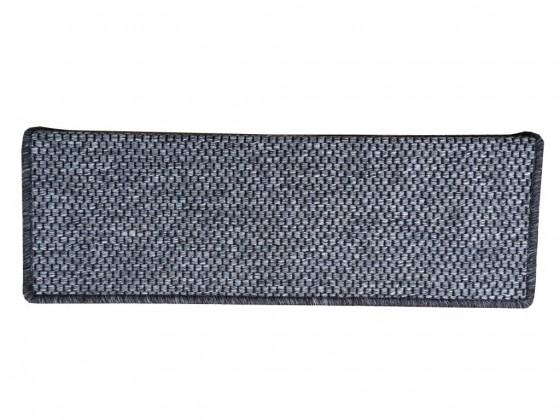 Koberec schodový nášlap Nature obdélník 24x65 cm (hnědý)