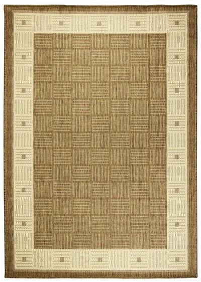 Koberec - Sisalo 879 J84 N, 67x120 cm (béžovohnědá)