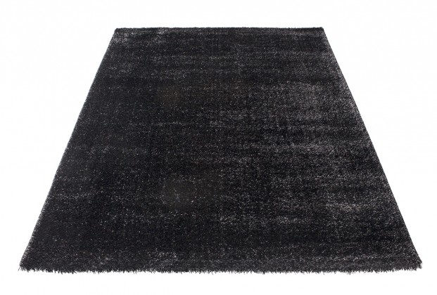 Koberec - Soft Shaggy 1900, 120x170 cm (černá)