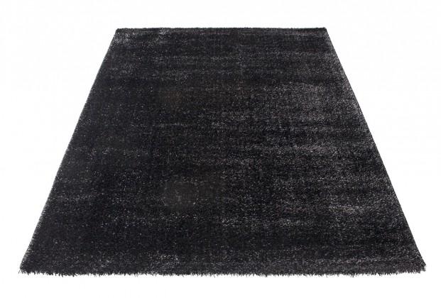 Koberec - Soft Shaggy 1900, 80x150 cm (černá)