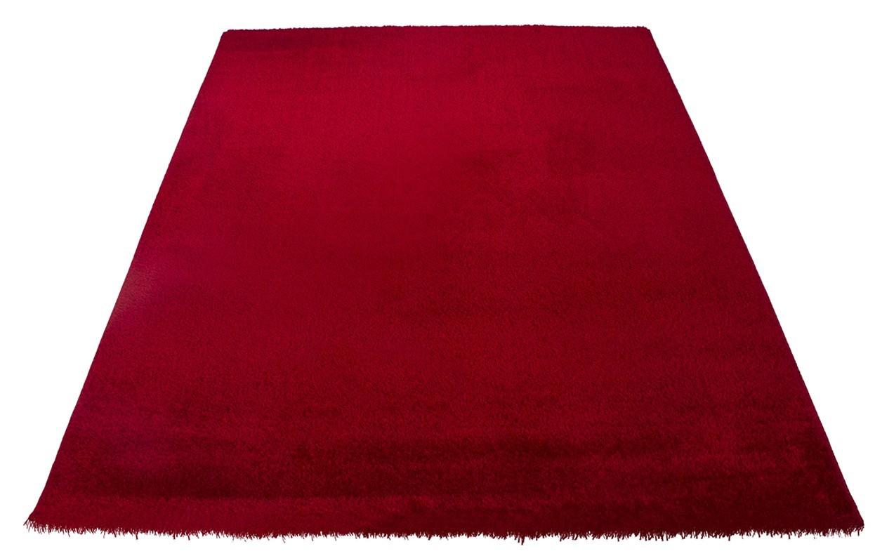 Koberec - Soft Shaggy 1900, 80x150 cm (červená)