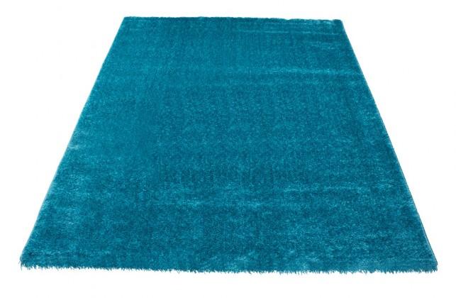 Koberec - Soft Shaggy 1900, 80x150 cm (modrá, zelená)