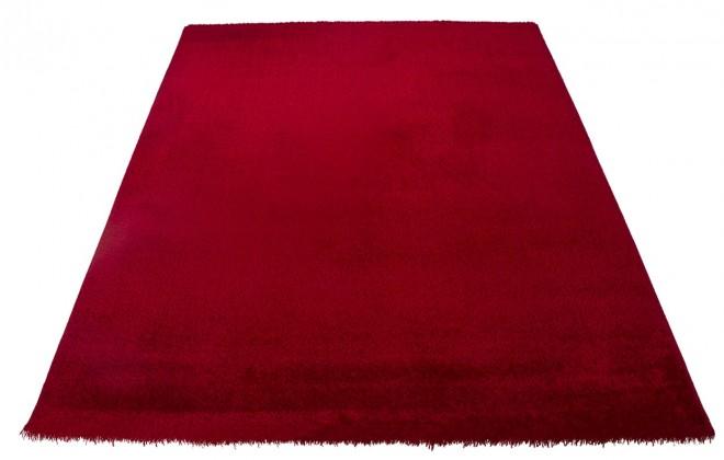 Koberec - Soft Shaggy 1900, 80x300 cm (červená)