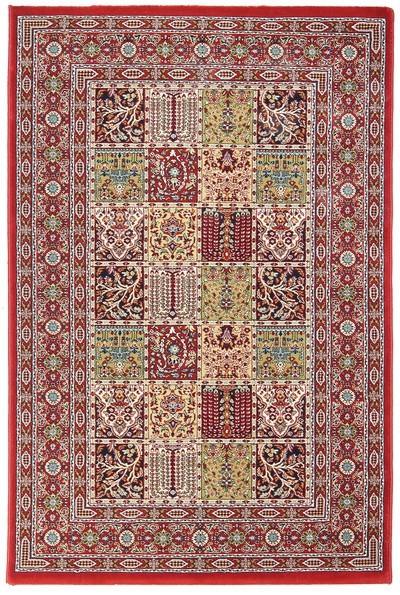 Koberec - Tashkent 481R, 120x180 cm (červená klasika)