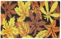 Kokosová rohožka Listy (40x60 cm)