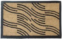 Kokosová rohožka Vlnky (40x70 cm)