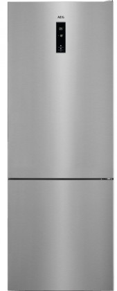 Kombinovaná lednice s mrazákem dole aeg rcb65121tx a++