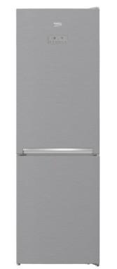 Kombinovaná lednice s mrazákem dole beko mcna366e30zxb, a++