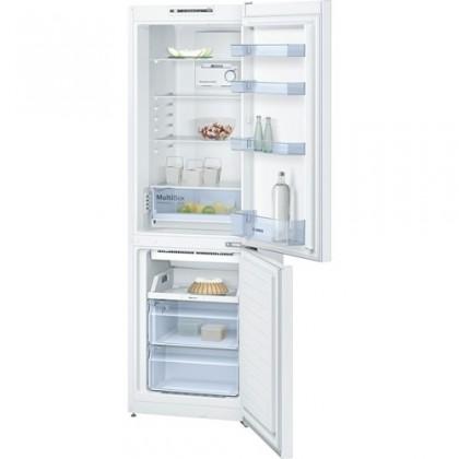 Kombinovaná lednice s mrazákem dole bosch kgn 36nw30, a++