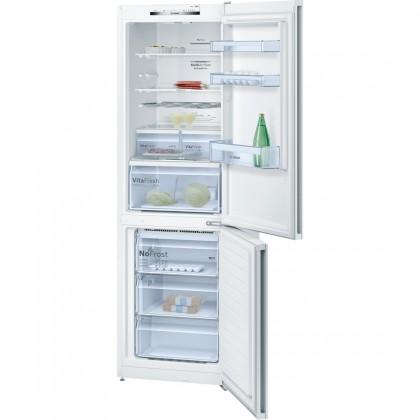 Kombinovaná lednice s mrazákem dole bosch kgn 36vw35, a++