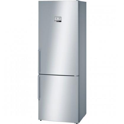 Kombinovaná lednice s mrazákem dole bosch kgn49ai31, a++