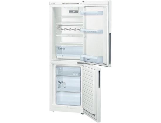 Kombinovaná lednice s mrazákem dole bosch kgv 33vw31s, a++
